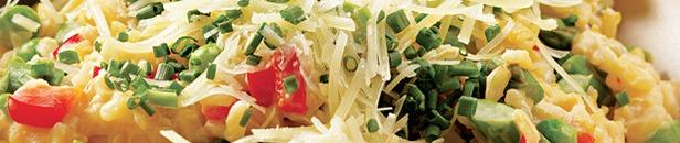 risotto-peterselie-italiaanse kruiden-vegetarisch elsrecepten